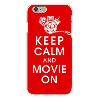 [holiczone] Hat Shark Apple iPhone 6+ (Plus) Custom Case White Plastic Snap On - Keep Calm/121634