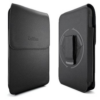[holiczone] iPhone 6 Holster, CellBee Premium Leather Pouch Carrying Case with Belt Clip B/138364