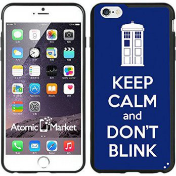 [holiczone] Atomic Market IP6+ Tardis Keep Calm And Dont Blink For Iphone 6 Plus 5.5 Inch /148149