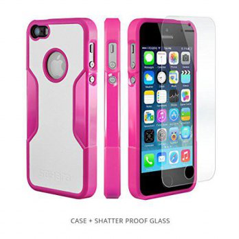 [holiczone] Sahara Case iPhone SE Case, fits iPhone 5s 5 SE (Pink) SaharaCase Protective K/155678