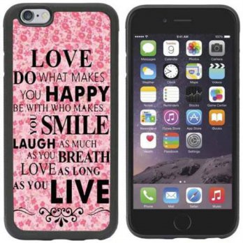 [holiczone] MATTHEW HOLCOMB IPhone 6 Case,SYMBOL(TM)[Scratch Resistant] Love Do What Makes/151450