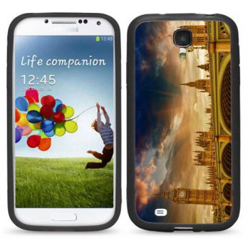 [holiczone] Atomic Market S4 London Night Big Ben for Samsung Galaxy i9500 S4 Case Cover/159322