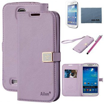 [holiczone] AILUN Galaxy S4 Case, By Ailun,Wallet Case,PU Leather Case,Credit Card Holder,/162212