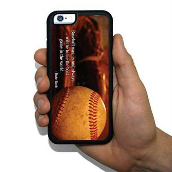 [holiczone] VictoryStore iPhone 6 Slim Protective Case - Baseball Theme - Babe Ruth Quote/163959