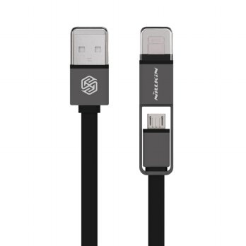 Nillkin Dual Sync and Charge Cable Micro USB Plus Lightning (120 cm)