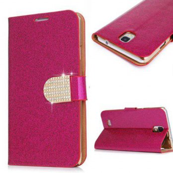 [holiczone] S5 Case,Galaxy S5 Case, Welity Hot Rose Color Bling Wallet Luxury Leather Magn/186614