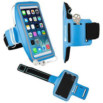 [holiczone] SumacTech Apple iPhone 6 (A1549/A1586) Sports Workout Exercise Running Armband/188243