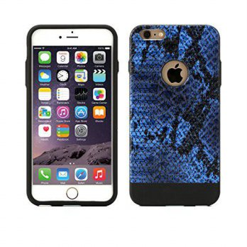 [holiczone]  Anti-Shock Apple iPhone 6s Plus/6 Plus Power Guard Case Leather Style [Snake /194102