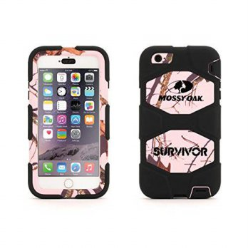 [holiczone] Griffin Technology iPhone 6 Plus/6s Plus Rugged Case, Survivor All-Terrain Mos/195179