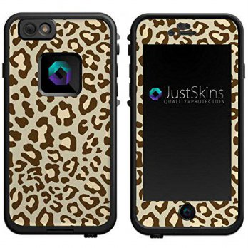 [holiczone] ARDOR Designs Tan Leopard Print Skin Decal for iPhone 6 Lifeproof Case Design /190456