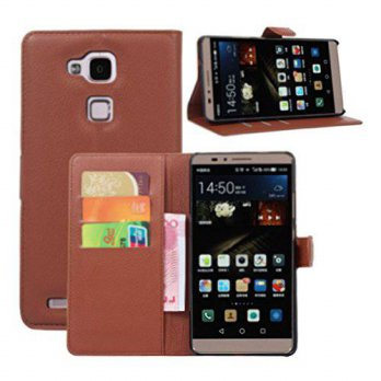 [holiczone] Fettion Premium Leather Wallet [ Flip Bracket ] Case Cover for Huawei Ascend M/200904