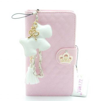 [holiczone] ZZYBIA NOTE III 3 QCD Leatherette Stand Case Card Holder Wallet with Dog Fring/201036