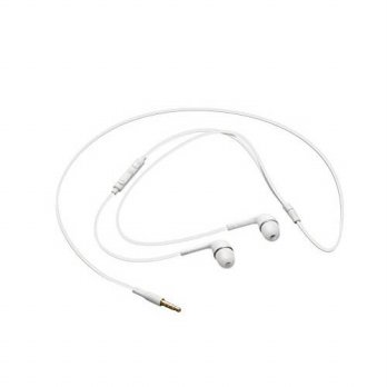 [holiczone] Samsung EO-HS3303WE Samsung Galaxy S4 Headset 3.5mm Stereo with Volume Key - N/204753