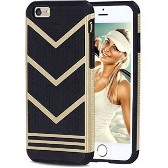 [holiczone] iPhone 6 Case, Vofolen Anti-slip Soft Armor iPhone 6 Cover Skin Shock Absorpti/205823