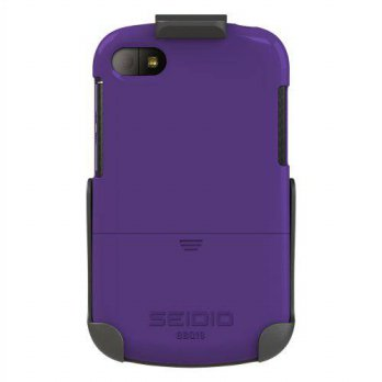 [holiczone] Seidio BD2-HR3BBQ10-PR SURFACE Case and Holster Combo for BlackBerry Q10 - Ret/207179