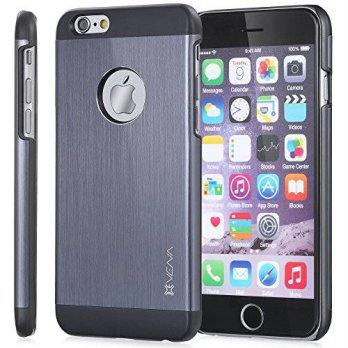 [holiczone] Apple iPhone 6 Case, Vena [vFit] Metal Brushed Aluminum Durable Slim Fit Case /211021