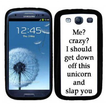 [holiczone] Atomic Market S3 Funny Me Crazy Phrase On Samsung Galaxy i9300 Galaxy S3 Case /218352