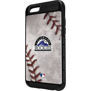 [holiczone] Skinit Colorado Rockies Game Ball iPhone 6 Cargo Case/218666