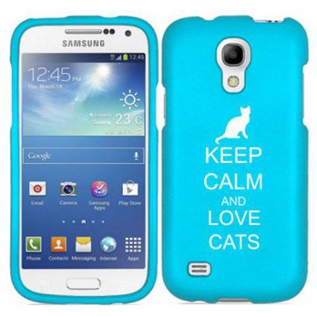 [holiczone] Daylor Samsung Galaxy S4 S IV Snap On 2 Piece Rubber Hard Case Cover Keep Calm/214499