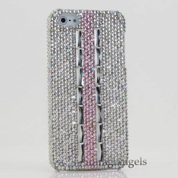 [holiczone] BlingAngels Luxury Bling iphone 5 5s Case Cover Faceplate Crystals Diamond Spa/216228