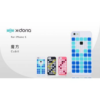 [holiczone] X-Doria 409551 Cubit Case for iPhone 5 - 1 Pack - Retail Packaging - Pink/219386