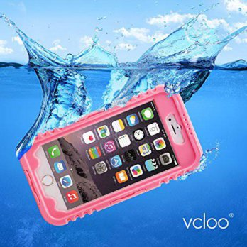 [holiczone] Vcloo Silicon Plastic Waterproof Case with Clear Touch Screen Protector for iP/225895