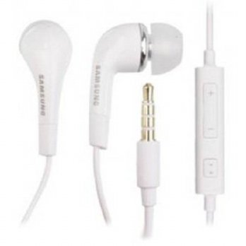 [holiczone] Samsung EHS64AVFWE 3.5mm EHS64 Stereo Headset with Remote and Mic - Original O/236449