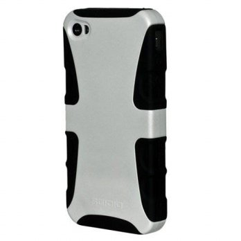 [holiczone] Seidio CSK3IPH4-GL DILEX Case for use with Apple iPhone 4/4S - Glossed White/240052