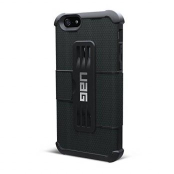 [holiczone] URBAN ARMOR GEAR UAG Folio iPhone 6/6s Feather-Light Composite [BLACK] Militar/240093