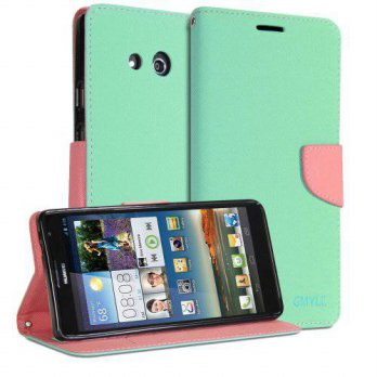 [holiczone] Huawei Ascend Mate 6.1 Case, GMYLE Wallet Case Classic for Huawei Ascend Mate /243169