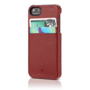 [holiczone] HEX Solo Wallet for iPhone 5 - Torino Red Grey/249019