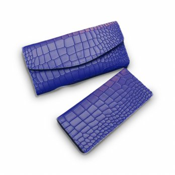 New Fashion Lady Women Crocodile pattern Leather Clutch Wallet Long Card  Wallet