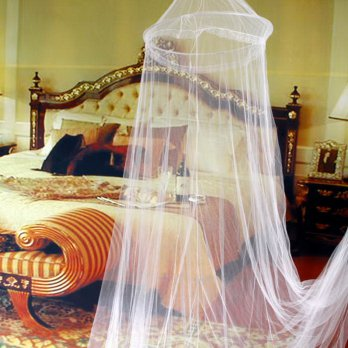 Elegant Round Lace Insect Bed Canopy Netting Curtain Dome Mosquito Net|YK00901
