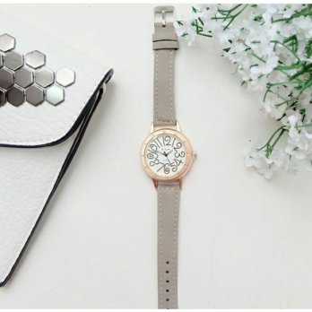 Carl Watch Grey Jam Tangan Wanita