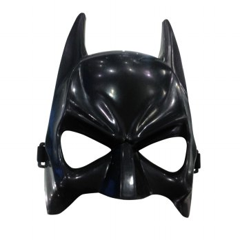 Black Ghost Plastic Mask