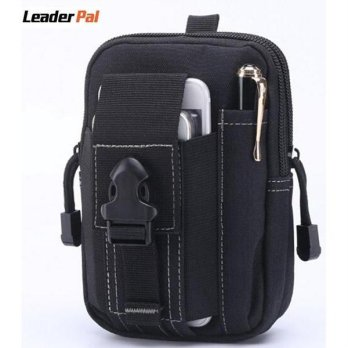 Cordura Millitary Waist Ponsel Hp Dompet Pria Leather Case Belt Clip