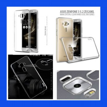 Asus Zenfone 3 5.2 Imak Crystal Clear Hard Case 2nd Series Casing Cover