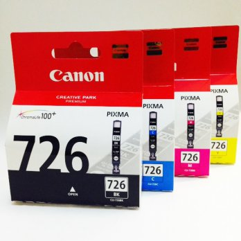Canon Cartridge Original 726 Black / Cyan / Magenta / Yellow