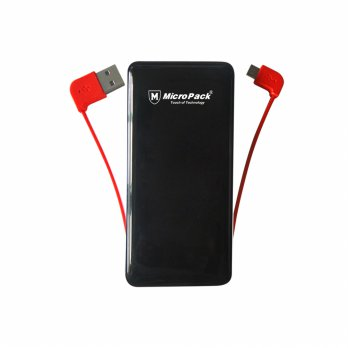 Micropack Power Bank P6000P Polymer (6000mah) For I Phone + Android