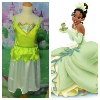 Kostum Princess Tiana And The Frog