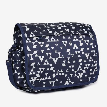 Airwalk Tas Casual LAMAR PRINTED SHOULDER BAG Biru/Navy Original AIWBPU51002N