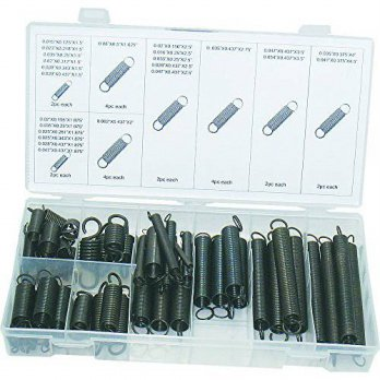 [macyskorea] Swordfish Black Oxide Finish Extension Spring Assortment, 54 Piece/12376984