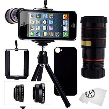 [holiczone] CamKix CamKix Camera Lens Kit for iPhone 5 / 5S including 8x Telephoto Lens / /251682
