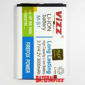 Baterai Battery Double Dobel Power Blackberry Bb M-S1 Ms1 Bold Onyx Vizz 3000mah