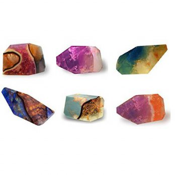 [holiczone] SoapRocks Soap Rocks Set, 6 Piece Palm Stones Random Variety Pack Bundle, TS P/270450