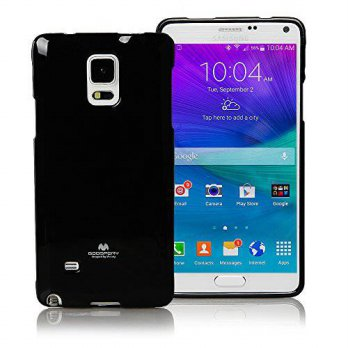 [holiczone] GOOSPERY Galaxy NOTE 4 Case, [Ultra Slim Fit] Goospery Color Pearl Jelly Case /271352