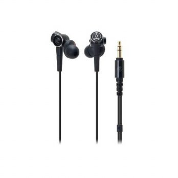 [holiczone] Audio-Technica ATH-CKS1000 Solid Bass In-Ear Headphone w Microphone (Black)/272940