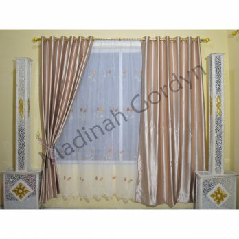 Gordyn Blackout - Motif Embos Gold
