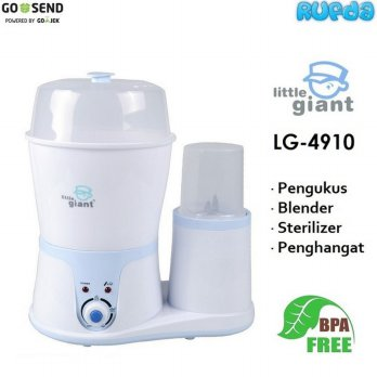 (Murah) Little Giant LG 4910 Sterilizer and Food Processor