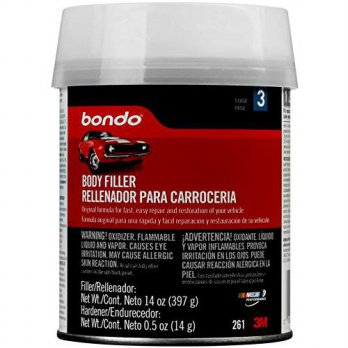 [macyskorea] 3M Bondo 261 Lightweight Filler Pint Can - 14 oz. (Pack of 12)/12376713